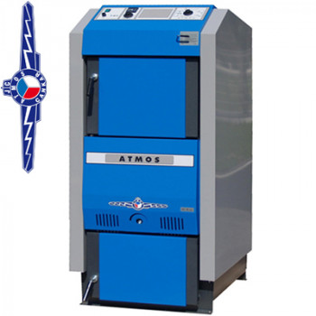 Котел пиролизный дровяной ATMOS DC40GS - 40 кВт