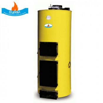 Котел длительного горения твердотопливный Буран 10 кВт (ГВС)