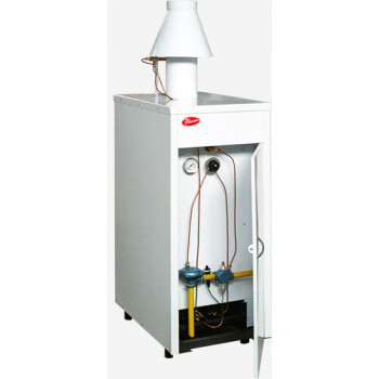 Котел газовый двухконтурный Рівнетерм-48В (atmo)