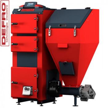 Котел твердотопливный DEFRO Komfort Eko 25 кВт (с автоподачей топлива)