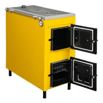 Котел на твердом топливе с плитой Данко АКТВ-20 кВт