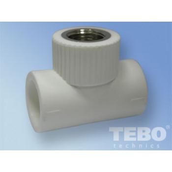 Tebo 015040302 тройник соединительный с внутренней резьбой