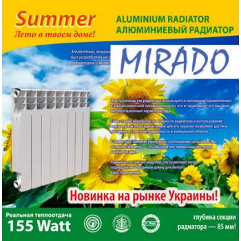 Алюминиевый радиатор Mirado Summer