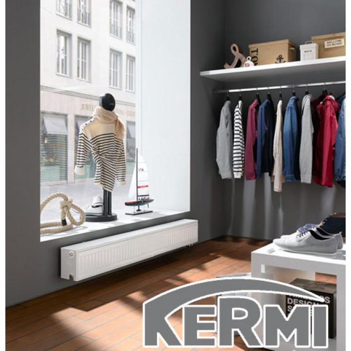 Kermi Line PLV Линейный 200 нижнее подключение