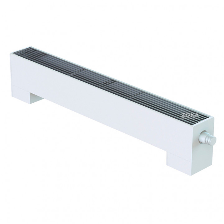 Напольный конвектор Minib без вентилятора стальной