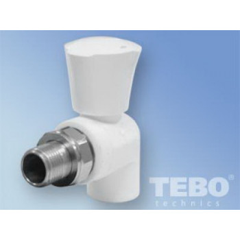 Tebo 015060211 кран шаровой радиаторный