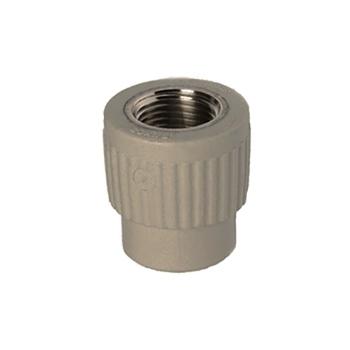 Полипропиленовый фитинг 2SPK1008 муфта соединительная МРВ