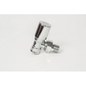 Кран радиаторный угловой хромированный AS Gruppe 9/36