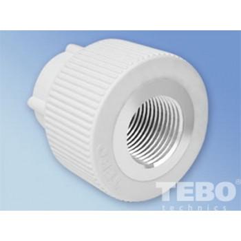 Tebo 015020402 муфта соединительная с внутренней резьбой