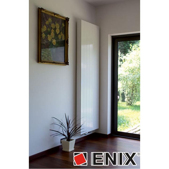 Enix Plain Art Vertical - высокий линейный стальной радиатор