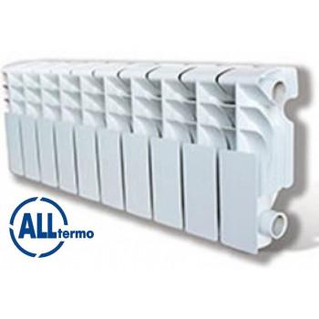 Алюминиевые низкие радиаторы Alltermo UNO Compacto 200