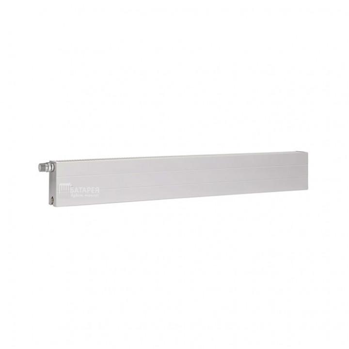 Kermi Plan PKO стальной гладкий низкий радиатор (боковое подключение)